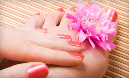 Mani-Pedi (a $45 value) - Victoria V Salon & Spa in Philadelphia
