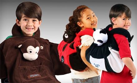 One Panda, Ladybug, or Monkey BlanKid Buddy (a $30 value) - Cabeau in