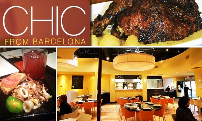 Chic from Barcelona - North Dallas: $10 for a $25 Groupon to Chic from Barcelona