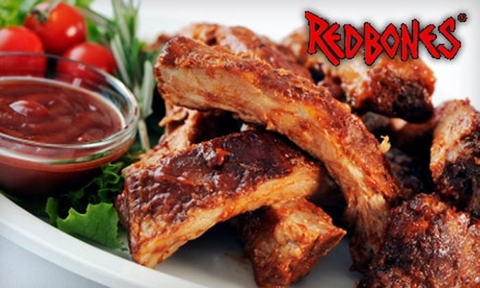 Redbones BBQ - Davis Square: $15 for $30 Worth of Authentic Down-Home Eats at Redbones