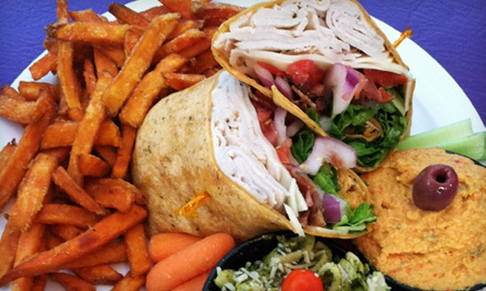 Blue Sky Café - Fletcher: $8 for $16 Worth of Sandwiches, Wraps, and Coffee Drinks at Blue Sky Café