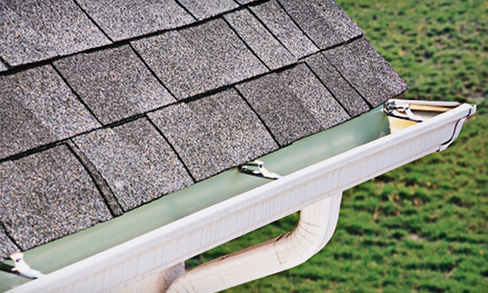 A Touch of Glass, LLC - Multiple Locations: Gutter Cleaning for Homes Up to 2,500 or 4,000 Square Feet from A Touch of Glass, LLC (Up to 81% Off)