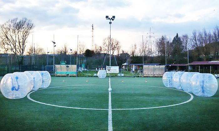 A.S.D. Giocosa Mente - A.S.D. Giocosa Mente: Una partita di bubble soccer per 10 persone
