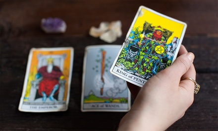 45-Minute Tarot Card Reading from Lady Chamaka
