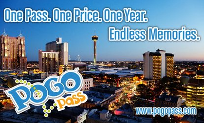 image for $41.50 for a 1-Year San Antonio Pogo Pass for <strong>Amusement</strong> Park, Water Park, Bowling, Zoo & More ($124.95 Value)