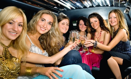 Wine Tour or Night-on-the-Town with Champagne or Airport Drop-Off Service from Platinum Rides (Up to 67% Off)