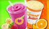Dairy Queen and Orange Julius - Depew: Six Medium Orange Julius Smoothies or One-Dozen Ice-Cream Cupcakes at Dairy Queen and Orange Julius (Up to 54% Off)