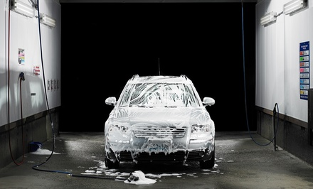 Two or Four Super Washes with Towel-Dry, Tire Shine, and Wheel Cleaning at Columbia Car Wash (Up to 55% Off)