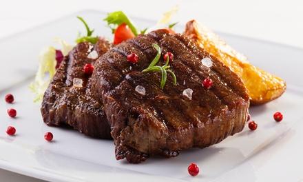 Menú para 2 o 4 con entrante, principal, postre, bebida y opción a plato de jamón desde 19,95 € en Taberna El Abanico