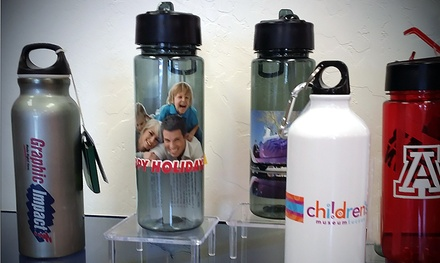 Custom-Printed Water Bottle at Graphic Impact (44% Off)