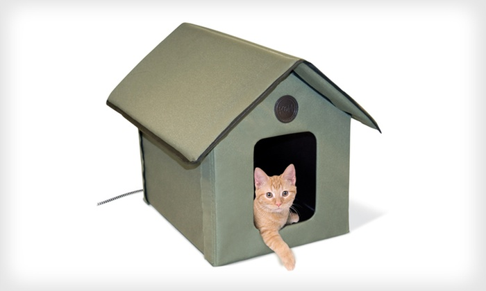 K&H Heated Cat House: $62 for a K&H Outdoor Heated Cat House ($124.99 List Price). Free Shipping and Free Returns.