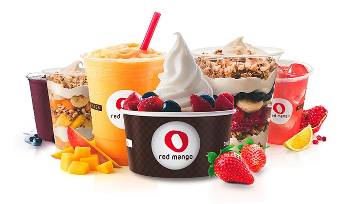 Red Mango - Bellevue Square Mall: 2, 4, or 6 Groupons, Each Good for $8 Worth of Frozen Yogurt at Red Mango in Bellevue Square (Up to 50% Off)