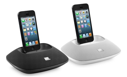 JBL OnBeat Micro Speaker Dock with Lightning Connector for iPhone and iPod (iPhone 6 and 6+ Compatible)