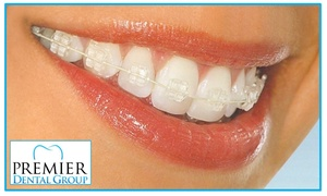 Premier Dental Group: $199 for Orthodontic Package at Premier Dental Group ($500 Value)