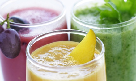3-, 5-, or 7-Day Juice Cleanse or $20 Worth of Juice at Revive Juice Bar in Costa Mesa (Up to 55% Off)