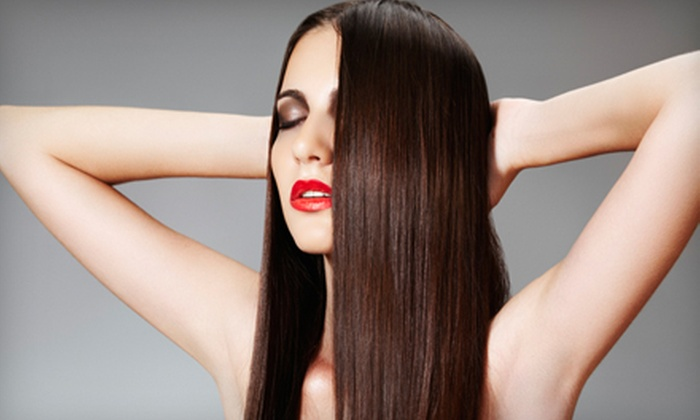 Samantha Peters - Highlands Ranch: One or Two Brazilian Blowouts from Samantha Peters at Liquid Salon and Spa in Highlands Ranch (Up to 59% Off)