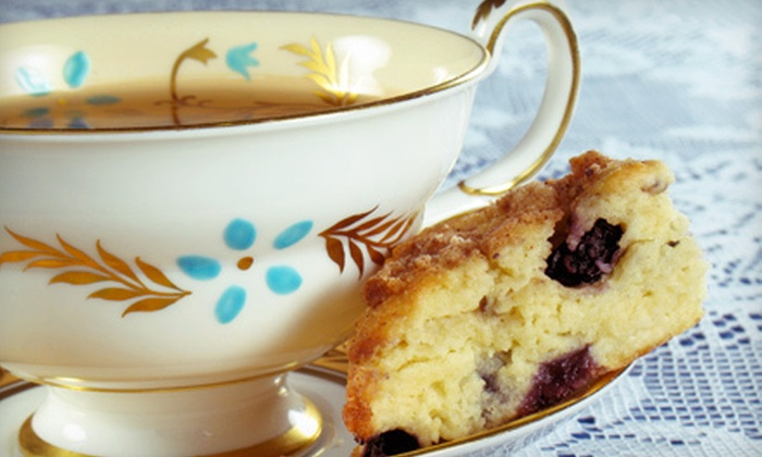 La-Tea-Da! Tearoom & Parlour - East Avenue: $10 for $20 Worth of Tea and Café Fare at La-Tea-Da! Tearoom & Parlour