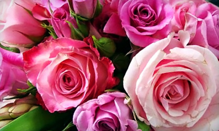 The Flower Fountain - Multiple Locations: $25 for $50 Worth of Flower Arrangements at The Flower Fountain