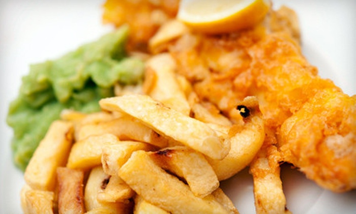 Robbie Walkers Fish 'n Chips - Medway: Haddock or Halibut Meal for Two at Robbie Walkers Fish 'n Chips (Up to 56% Off)