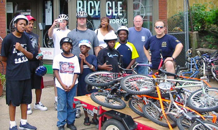 St. Louis BicycleWorks - Soulard: If 24 People Donate $10, Then St. Louis BicycleWorks Can Buy Bike Locks and Safety Gear for Kids