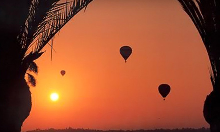 Skysurfer Balloon Company - Del Mar Heights: $100 for a Del Mar Champagne Hot Air Balloon Flight from Skysurfer Balloon Company in Del Mar ($205 Value)