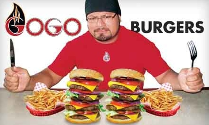 Gogo Burgers - Sommerset West- Elmonica South: $10 for $20 Worth of Burgers and Drinks at Gogo Burgers in Hillsboro