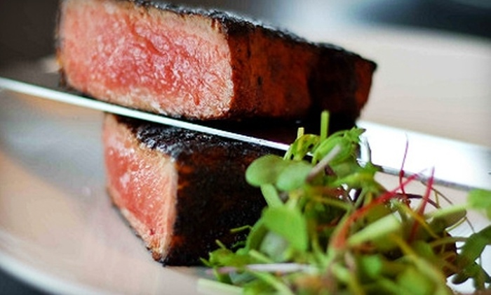 Baker's 360 - Downtown Lexington: $25 for $50 Worth of Gourmet Steak House Fare and Sushi at Baker's 360
