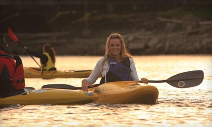 eNRG Kayaking - Oregon City: $19 for a Willamette Falls Kayak Tour from eNRG Kayaking in Oregon City ($39 Value)