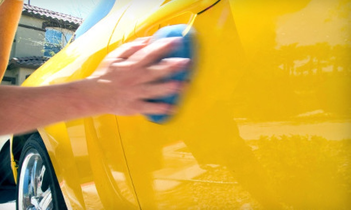 T & Tink's Too Clean Custom Car Care - Downtown Winston-Salem: Mobile-Auto-Detailing Packages from T & Tink's Too Clean Custom Car Care (Up to 67% Off). Four Options Available.