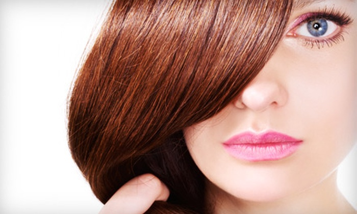 Seven the Hair Salon - Dearborn: Brazilian Blowout or Pravana Perfection SmoothOut at Seven the Hair Salon