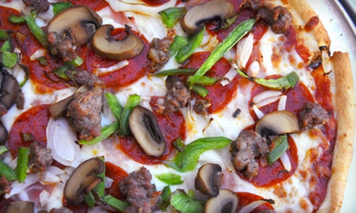 Florentine Pizzeria Ristorante and Sports Bar - Belmont: $19 for Pizza and Beers at Florentine Pizzeria Ristorante and Sports Bar in Belmont (Up to $38.99 Value)