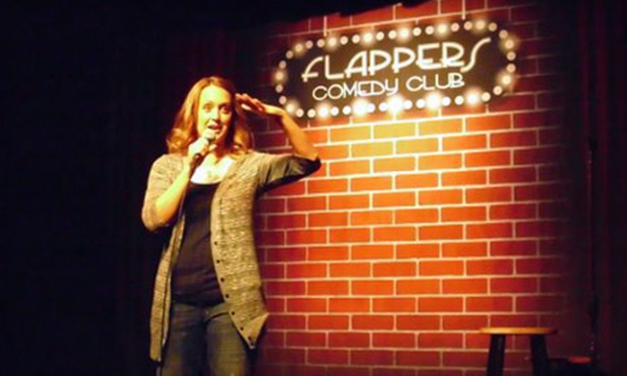 Flappers Comedy Club - Flappers Comedy Club: $25 Worth of Comedy-Show Tickets and Food