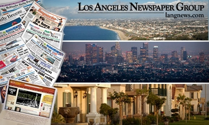 Los Angeles Newspaper Group - Los Angeles: $33 Annual Subscription to One of Five Publications from Los Angeles Newspaper Group ($75 Value)