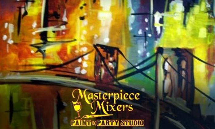 Masterpiece Mixers- Naples - Multiple Locations: $15 for a Painting Class at Masterpiece Mixers Paint & Party Studio (Up to $35 Value)