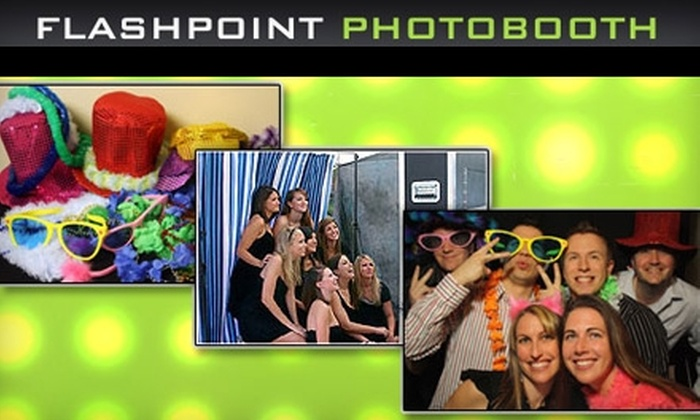 Flashpoint Photobooth - Kitchener - Waterloo: $599 for a Four-Hour Photobooth Rental Package from Flashpoint Photobooth (Up to $1,199 Value)