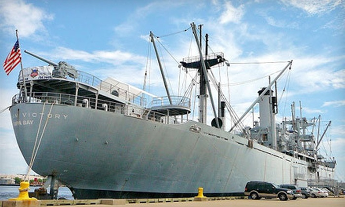 American Victory Ship Mariners Memorial Museum - Channel District: Membership to American Victory Ship Mariners Memorial Museum (Up to 51% Off). Three Options Available.