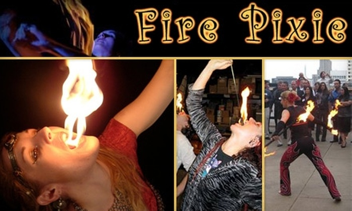 Fire Pixie Entertainment - Sundale: $49 for a Fire-Eating Class at Fire Pixie Entertainment ($100 Value)