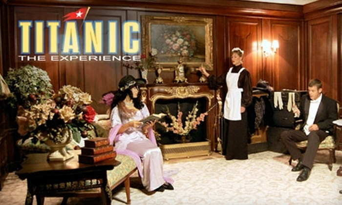 Titanic The Experience - Southwest Orange: $12 Admission to Titanic—The Experience