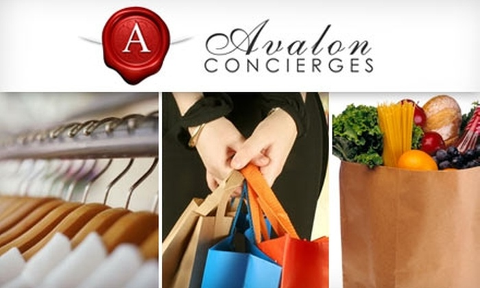 Avalon Concierges - Jacksonville: $35 for Three Hours of Personal Assistance from Avalon Concierges ($150 Value)