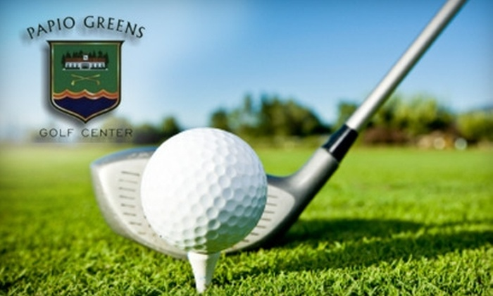 Papio Greens Golf Center - La Vista: $7 for 18 Holes of Par-Three Golf at Papio Greens Golf Center