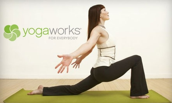 YogaWorks - Multiple Locations: $49 for One Month of Unlimited Yoga Classes at YogaWorks ($139 Value)