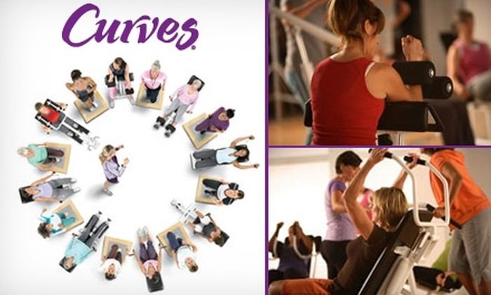 Curves - Multiple Locations: $30 for Thirty Day Membership at Curves ($105 Value)