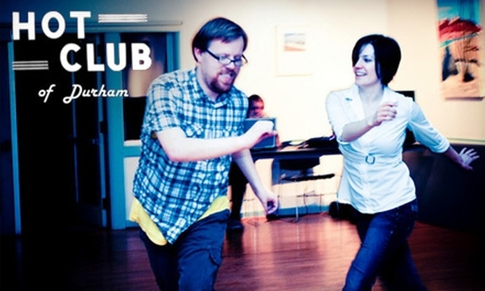 Hot Club of Durham - Old North Durham: $10 for Six Beginner Group Swing-Dance Classes at Hot Club of Durham ($75 Value)