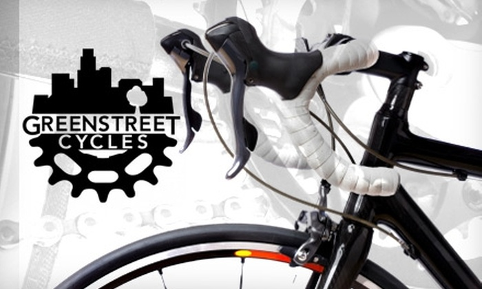 Greenstreet Cycles  - Downtown: $20 for One Bike Tune-Up at Greenstreet Cycles ($54.99 Value)