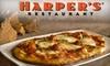 Half Off at Harper's Restaurant