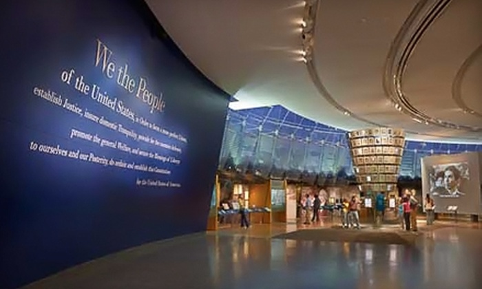 National Constitution Center - Philadelphia: $15 for an Individual Membership ($35 Value) or $35 for a Family Membership ($75 Value) to the National Constitution Center