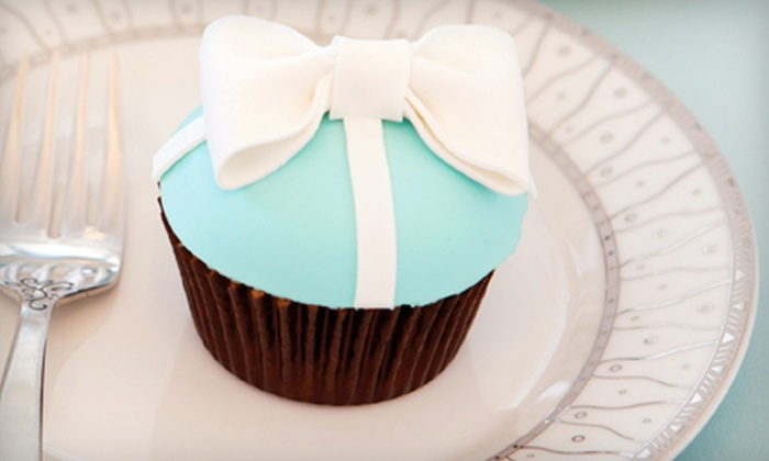 Sweets Bakeshop - Multiple Locations: $5 for $10 Worth of Gourmet Cupcakes and Macarons or One Dozen Specialty Wedding Cupcakes at Sweets Bakeshop