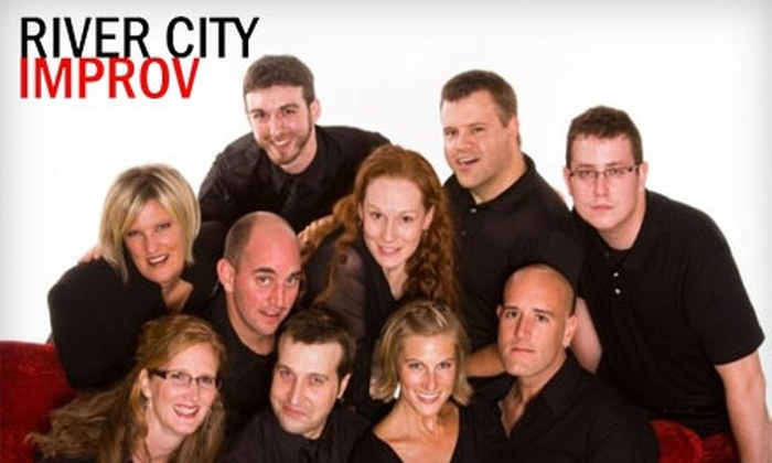River City Improv - Heartside-Downtown: $8 for Two Tickets to River City Improv ($18 Value)