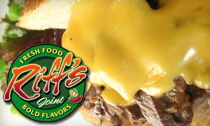 Riff's Joint - Easthampton: $7 for $15 Worth of Eclectic Fare at Riff's Joint in Easthampton