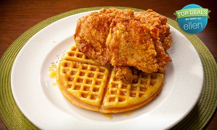 Soul - Diamond Head - Kapahulu - St. Louis: Four Chicken-and-Waffles Entrees or Thanksgiving Sides for Four at Soul (Half Off)